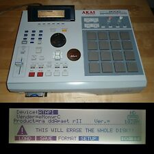 Akai MPC 2000XL 1GB PCMCIA SD Multi Card Drive 32MB RAM FULLY SERVICED