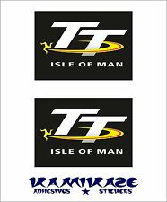 PEGATINA STICKER AUTOCOLLANT ADESIVI AUFKLEBER DECAL ISLE OF MAN TT TROPHY