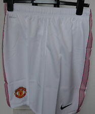 MANCHESTER UNITED 2012/13 BOYS HOME SHORTS BY NIKE SIZE EXTRA LARGE BOYS BNWT