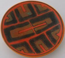 Outstanding Small Poole Pottery Studio Delphis Dish / Tray With Abstract Design