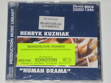 CD/DENNIS MUSIC LIBRARY HDCD 1246/HENRYK KUZNIAK/HUMAN DRAMA