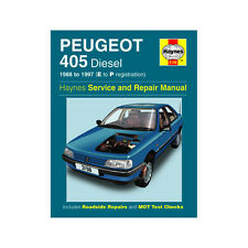 Peugeot 405 1.8 1.9 Diesel 1988-97 (E to P Reg) Haynes Manual
