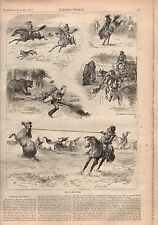 1877 Harpers Weekly June 23-Mississippi Mob kills a woman; Manitoba; Uncle Sam