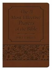 21 MOST EFFECTIVE PRAYERS OF THE BIBLE GIFT EDITION