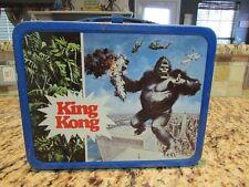 VINTAGE OLD NICE RARE 1977 KING KONG METAL LUNCHBOX
