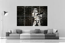 BANKSY STORMSTROOPER STREET ART GRAFFITI Wall Art Poster Grand format A0 Large