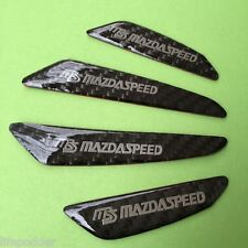 For Mazda Speed Car Door Protect Badge Car Anti-Collision Emblem Reflective New