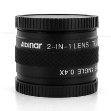 2-in-1 Lens Tele 1.7x/0.4x Wide for CANON VIXIA HG10 HV20 HV30 WD-H43 HV10 HV20