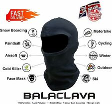 Balaclava Face Mask Motorbike Motorcycle Cycling Ski Under Helmet Neck Warmer UK