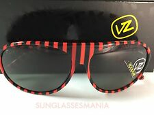 CRAZY SALE: VON ZIPPER ROCKFORD RED BLACK | GREY LENS SUNGLASSES RJL
