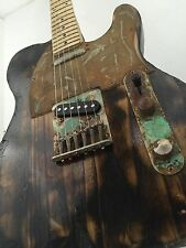 Telecaster Heavy Relic Patina Burned Rusty Steampunk Custom Electric Guitar