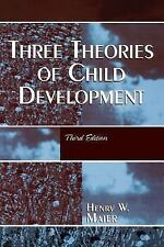Three Theories of Child Development by Henry W. Maier (1988, Paperback)