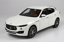 BBR 2014 Maserati Levante White 1:18 BBRC1809A LE 199pcs*Very Nice!