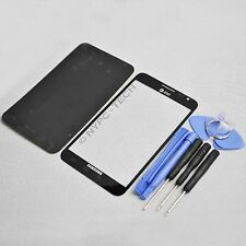 3X Front Outer Glass Lens Screen for Black Samsung Galaxy Note 1 SGH-I717 AT&T