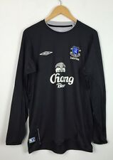 UMBRO EVERTON 2004/2005 LONG SLEEVED TRAINING TOP FOOTBALL SHIRT JERSEY MAGLIA M
