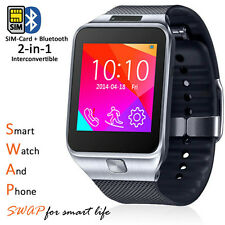 Stylish GSM Wireless Watch Cell Phone w/ Bluetooth Camera Unlocked AT&T T-Mobile