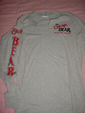 Chicago Bear-Sports Bar & Grill Gray Long Sleeve-T-Shirt-S