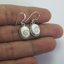 Verynice Thailand Shiva Eye Earrings Sterling Silver  1015
