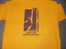 Lakers vs Celtics T shirt