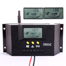LCD 30A PWM Solar Panel Battery Regulator Charge Controller 12V/24V 360W/720W KJ