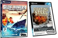silent hunter 4 wolves of the pacific & fighting steel