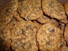 MOIST HOMEMADE OATMEAL RAISIN CINNAMON COOKIES (2 DOZEN)