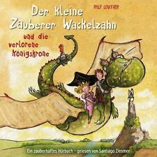 Der kleine Zauberer Wackelzahn und die verlorene Königskrone (OVP)