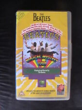 BEATLES YELLOW  MAGICAL MYSTERY TOUR VHS VIDEO