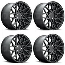 19x8.5 Rotiform BLQ R112 5x112 45 Matte Black Wheel New set(4)