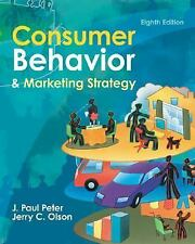 Consumer Behavior, Olson, Jerry, Peter, J. Paul, Acceptable Book