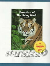 NEW 3 Days US , CA Essentials of The Living World 4E George Johnson 4t