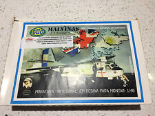 Very Rare Minaturas em resin Malvinas Argentinian S2 Tracker 1:48 Falklands War