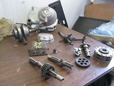 73 Honda ST90 High Low Shifter Cover Clutch Cover Crankshaft Flywheel Parts Lot