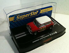qq H2807 SUPERSLOT MINI COOPER CLASSIC RALLY MONTECARLO 67 No 177  Scalextric UK