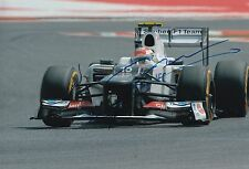 Sergio Perez Hand Signed Sauber 12x8 Photo F1 2.