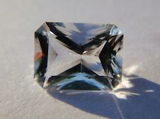 Genuine 4.96 Ct Faceted Herkimer Diamond from NY USA - Octagon Cut - Eye Clean