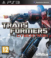 Transformers War For Cybertron ~ Ps3 (en Perfectas Condiciones)