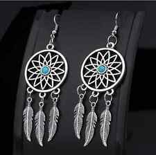 The new tassel feathers Dream catcher dreamcatcher earrings