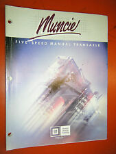 UP TO 1987 CHEVY GM MUNCIE FIVE SPEED MANUAL TRANSAXLE SERVICE TRAINING MANUAL