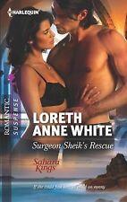 Surgeon Sheik's Rescue (Harlequin Romantic Suspense)