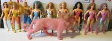 Big lot of 10 Vintage 80s Princess of Power POP She-Ra doll action figure toys
