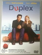 Duplex (Drew Barrymore & Ben Stiller) DVD in EXCELLENT condition (Region 4 PAL)