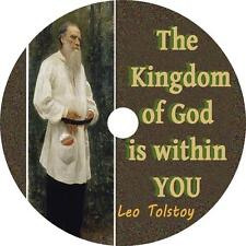 The Kingdom of God is Within You, Leo Tolstoy Christian Audiobook on 15 Audio CD
