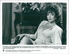 1991 Joan Collins Portrays Alexis Colby Original News Service Photo