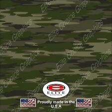 "Traditional Green CAMO DECAL 3M WRAP VINYL 52""x15"" TRUCK PRINT REAL CAMOUFLAGE"