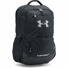 UNDER ARMOUR NEW Backpack Hustle II Black BNWT Water Resistant