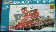 Revell Germany Harbor Tug Boat model kit 1/108
