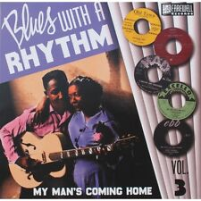 LP Blues With A Rhythm – Volume 3 ( 10 INCH 25 CM )  V. Artists - NEW Vinyl ed.