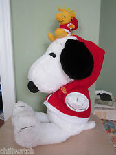LG MACY'S SNOOPY WOODSTOCK STUFFED PLUSH GORGEOUS 19 INCHES *EC