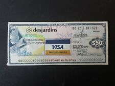 TRAVELERS CHEQUE DA 50 DOLLARI